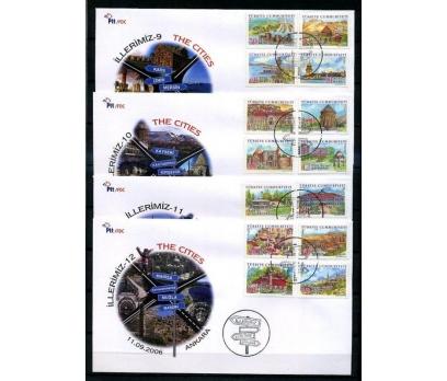 CUMH.FDC 2006 İLLERİMİZ (9-12) SÜPER (K013)