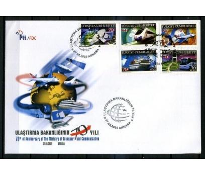 CUMH.FDC 2009 ULAŞTIRMA B.70.YILI SÜPER (K013)