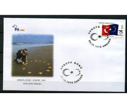 CUMH.FDC 2010 AVRUPA GÜNÜ SÜPER (K014)
