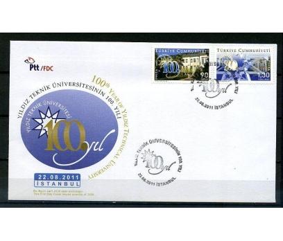 CUMH.FDC 2011 YILDIZ TEKNİK ÜN.100.YILI  (K014)