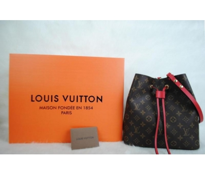 LOUIS VUITTON MONOGRAM CANVAS NEO NOE HAKİKİ DERİ 1 2x