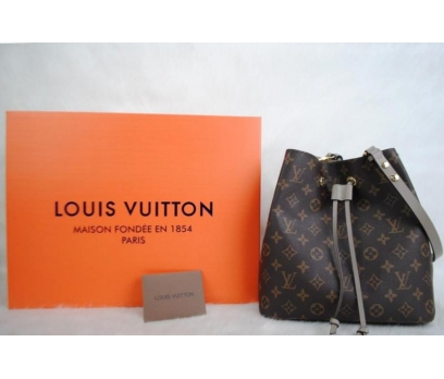 LOUIS VUITTON MONOGRAM CANVAS NEO NOE HAKİKİ DERİ