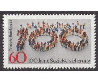ALMANYA (BATI) 1981 DAMGASIZ SOSYAL MEVZUATIN 100.