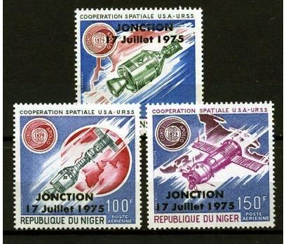 NİJER ** 1975 APOLLO & SOYUZ-2 TAM SERİ SÜPER(N-1)