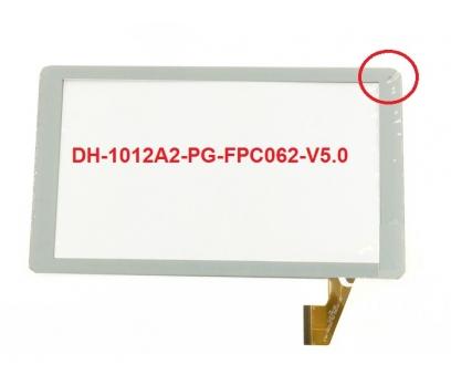 DH-1012A2-PG-FPC067 Dokunmatik Tablet Camı Beyaz Dokunmatik Touch