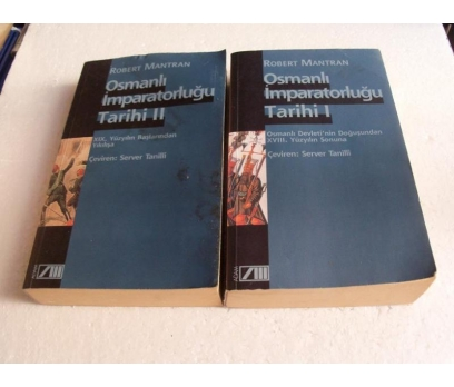 OSMANLI İMPARATORLUĞU TARİHİ Robert Mantran - Serv