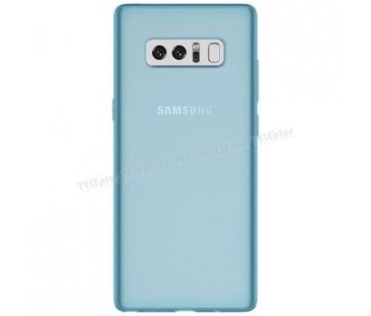 Samsung Galaxy Note 8 Kılıf ince Silikon  Mavi