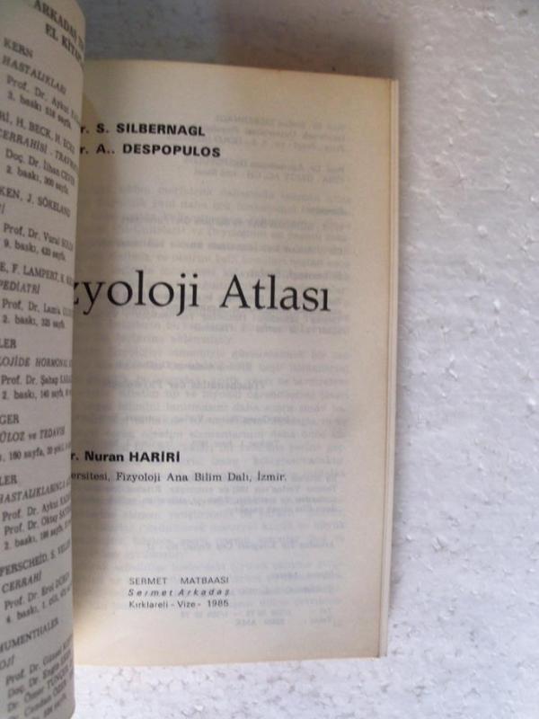 RENKLİ FİZYOLOJİ ATLASI Silbernagl , Despopulos 2