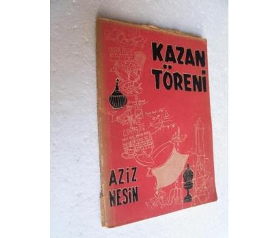 KAZAN TÖRENİ Aziz Nesin KARİKATÜR YAY.
