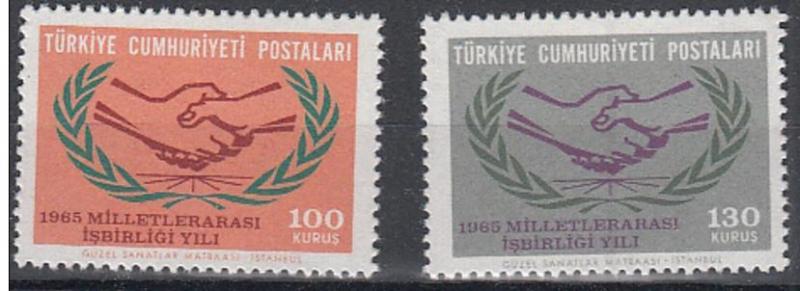 1965 DAMGASIZ MİLLETLERARASI İŞBİRLİĞİ SERİSİ 1