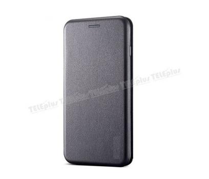 iPhone X Kılıf Mıknatıslı Flip Cover  Gri