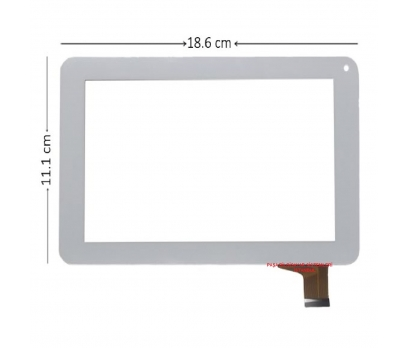 Vmax SlimPad Dokunmatik Tablet Camı Beyaz Tablet Dokunmatiği Beyaz