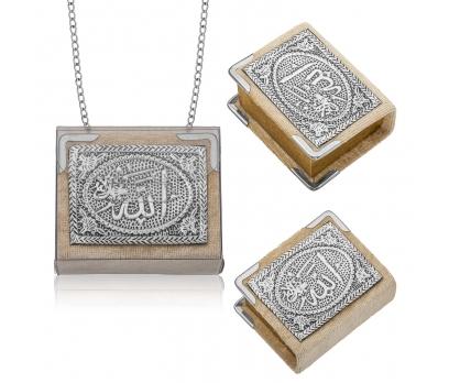 Gümüş Zincirli Küçük Kur'anı-ı Kerim