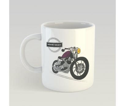 Kişiye Özel Motorsiklet Tasarımlı Kupa Bardak - tk3466