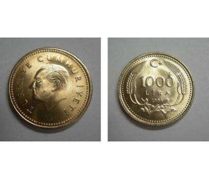 D&K-1994  BAKIR-NİKEL 1000 LİRA  ÇİL.