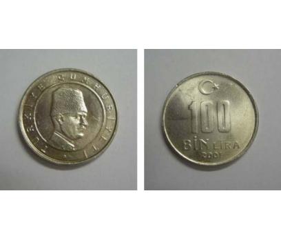 D&K-2001  BAKIR-NİKEL 100.000  LİRA  ÇİL.