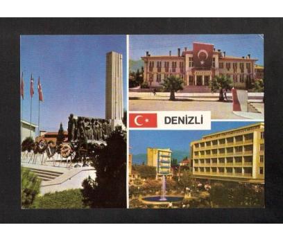 D&K-DENİZLİ PARÇALI-KARTPOSTAL.