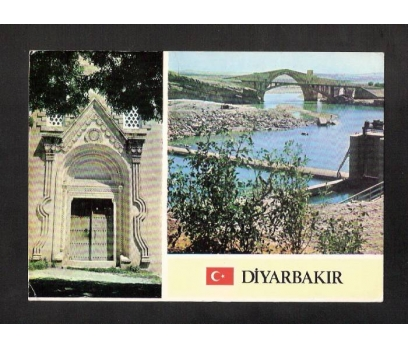 D&K-DİYARBAKIR PARÇALI-KARTPOSTAL.