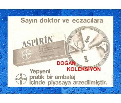 D&K-ESKİ ASPİRİN (BAYER) REKLAMI.