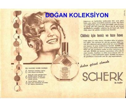 D&K--ESKİ SCHERK LOSYON REKLAMI.