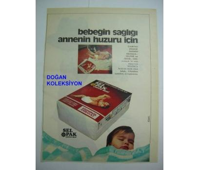 D&K-ESKİ SELPAK ÇOCUK BEZİ REKLAMI.