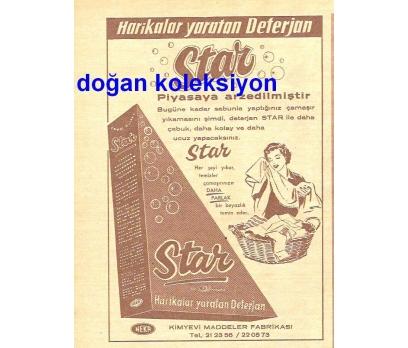 D&K--ESKİ STAR DETERJAN REKLAMI.