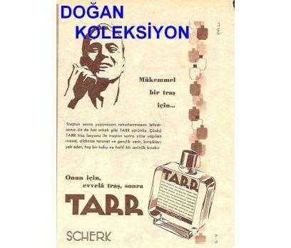 D&K--ESKİ TARR (SCHERK) LOSYONU REKLAMI.