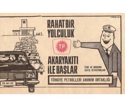 D&K-ESKİ TÜRKİYE PETROLLERİ  REKLAMI.