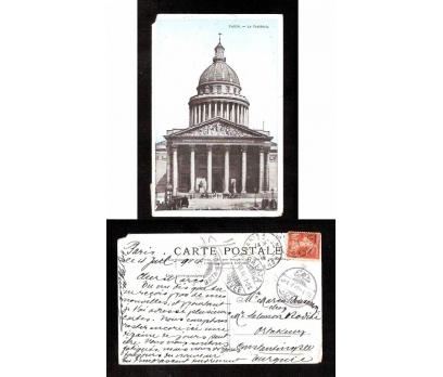 D&K--FRANSIZ KARTI ARKASI YAZILI-KARTPOSTAL