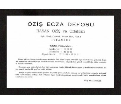 D&K-ÖZİŞ  ECZA DEPOSU REKLAMI.