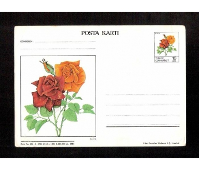D&K-POSTA KARTI-GÜL