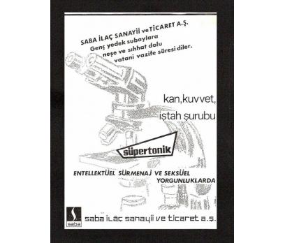 D&K--SABA İLAÇ SANAYİİ-REKLAMI.