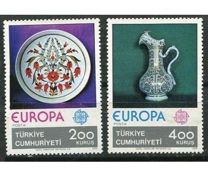 1976  DAMGASIZ AVRUPA CEPT SERİSİ