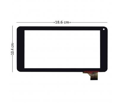 Concord Smart Pad Duo C-707 Dokunmatik Tablet Camı Siyah Tablet Dış Camı