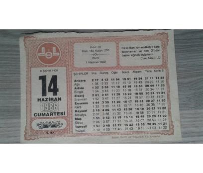 14 HAZİRAN 1986 CUMARTESİ