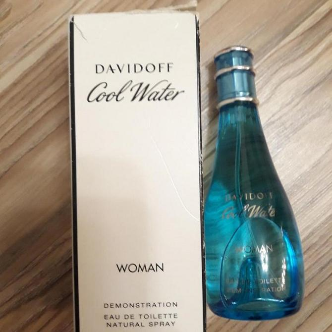 TESTER DAVİDOFF COOL WATER FEMME EDT 100 ML 1
