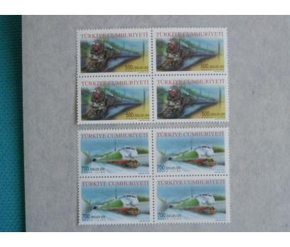 2002 Taşıtlar dörtlü blok  (MNH)