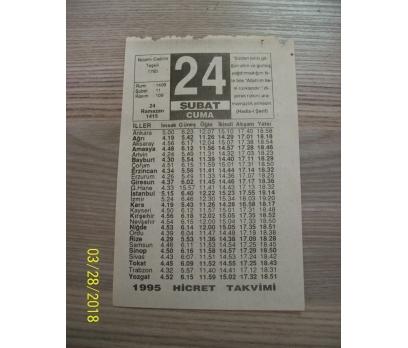 24 şubat 1995 cuma