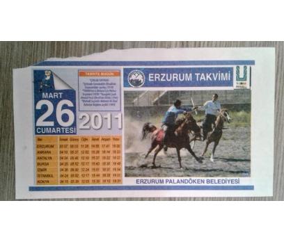 26 MART 2011 CUMARTESİ TAKVİM YAPRAĞI