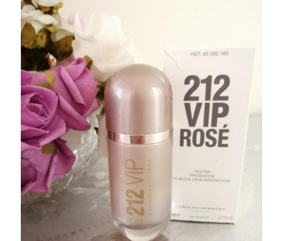 TESTER CAROLİNA HERRERA 212 VİP ROSE EDP 80 ML