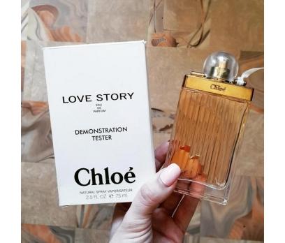 TESTER CHLOE LOVE STORY EDP 75 ML
