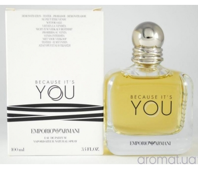 TESTER EMPORİO ARMANİ BECAUSE İT'S YOU EDP 100 ML 1
