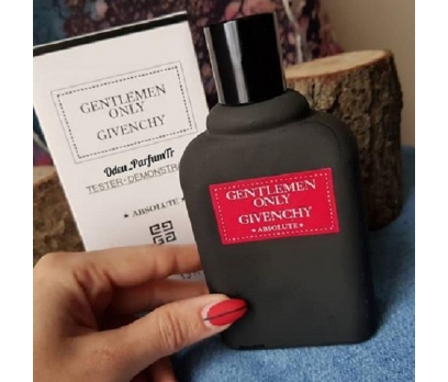 TESTER GİVENCHY GENTLEMEN ONLY ABSOLUTE EDP 100 ML