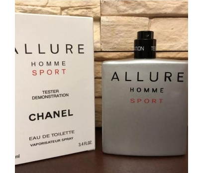 TESTER KUTULU CHANEL ALLURE HOMME SPORT EDT