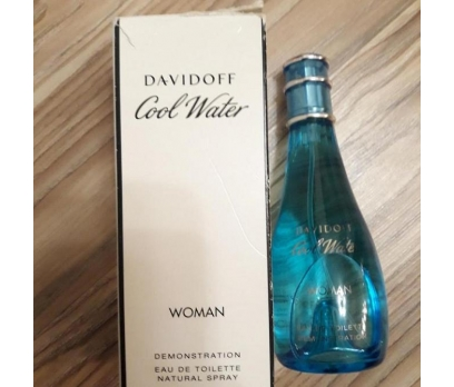 TESTER KUTULU DAVİDOFF COOL WATER EDT WOMEN