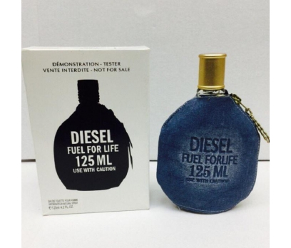 TESTER KUTULU DİESEL FUEL FOR LİFE MAVİ EDP