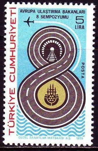 1979 DAMGASIZ AVRUPA ULAŞTIRMA BAKANLARI 8. KONGRE 1