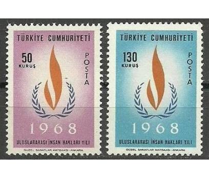 1968 DAMGASIZ ULUSLARARASI İNSAN HAKLARI YILI SERİ