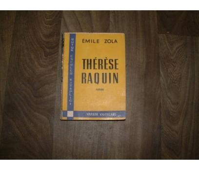 THERESE RAQUIN EMILE ZOLA VARLIK YAYIN- 1962