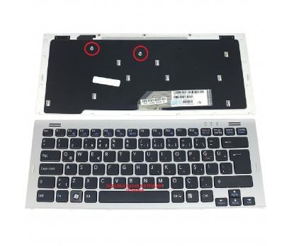 Sony 1-480-887-21 Klavye Tuş Takımı Siyah Renk Türkçe Q
